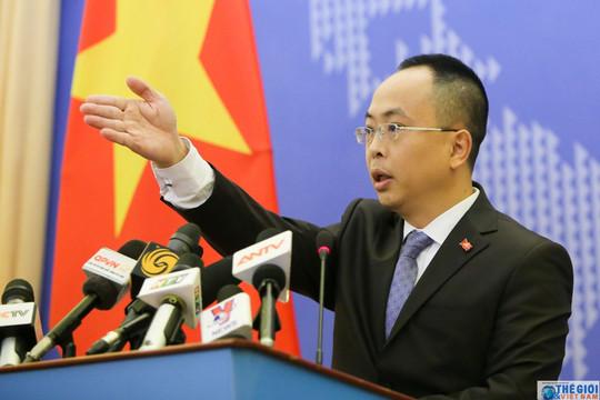 Kiên quyết phản đối Trung Quốc xâm phạm chủ quyền của Việt Nam