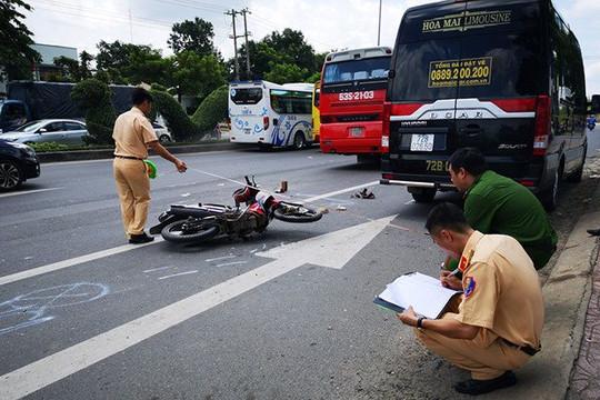Ngày 1/5, cả nước có 12 người tử vong do tai nạn giao thông