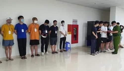 40 người Trung Quốc nhập cảnh trái phép ở quận Nam Từ Liêm
