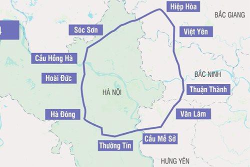 Hà Nội: Đường vành đai 4 rộng 120m sẽ hoàn toàn khác biệt