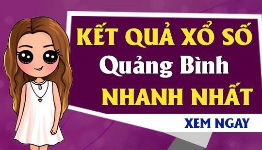 XSQB 6/5- KQXSQB 6/5 - Kết quả xổ số Quảng Bình ngày 6 tháng 5 năm 2021