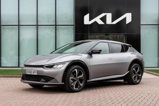 Kia EV6 2022 ra mắt, có giá từ 56.500 USD