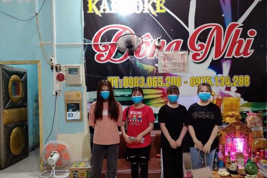 Quảng Ninh thu hồi giấy phép kinh doanh quán karaoke vi phạm quy định phòng, chống dịch