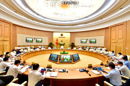 Thủ tướng chủ trì phiên họp Chính phủ thường kỳ tháng 4/2021