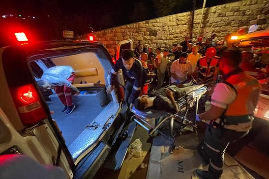 Người biểu tình Palestine đụng độ cảnh sát Israel, 184 người bị thương