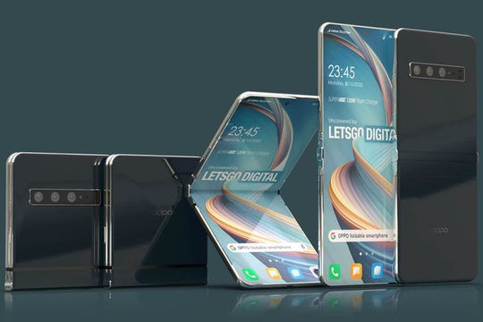 Oppo sẽ ra mắt smartphone gập
