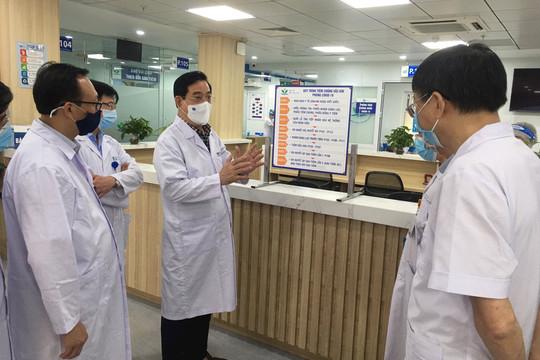 Bệnh viện Nhi Trung ương giảm một nửa bệnh nhân đến khám để chống dịch Covid-19
