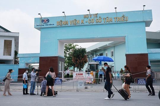 Hà Nội thêm 2 ca dương tính với Covid-19 liên quan đến Bệnh viện K Tân Triều