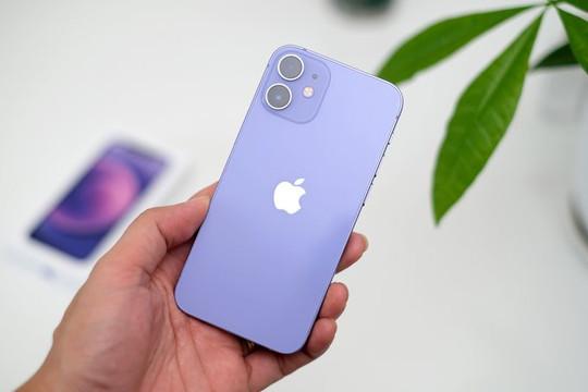iPhone 12 và 12 Mini màu tím chính hãng 'cập bến' Việt Nam