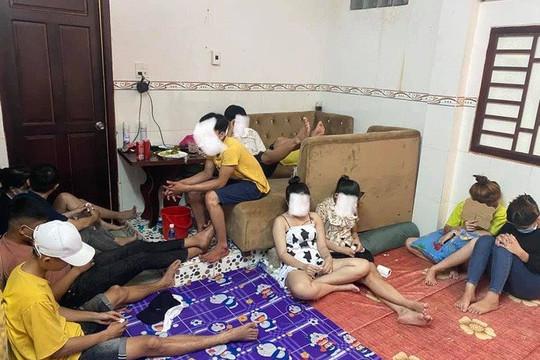 25 thanh niên nam, nữ tụ tập sử dụng ma tuý trong nhà nghỉ