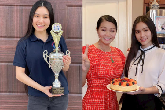 Con gái nghệ sĩ cải lương Ngọc Huyền tốt nghiệp thủ khoa tại Mỹ