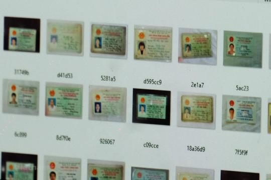 Hàng ngàn chứng minh nhân dân Việt Nam bị rao bán công khai trên mạng