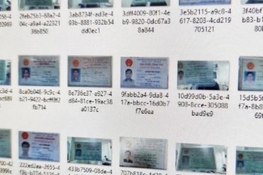 Bộ Công an điều tra vụ hàng ngàn chứng minh thư bị rao bán trên diễn đàn hacker