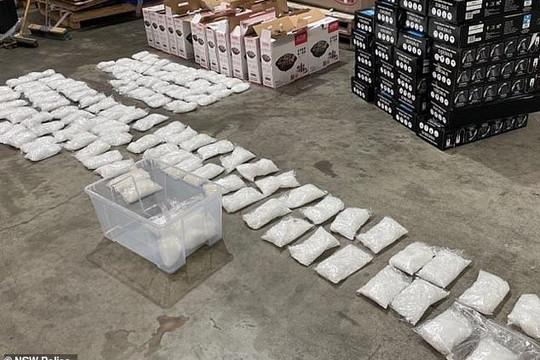 Australia: Phát hiện 316kg ma tuý đá trong lô lò nướng nhập khẩu
