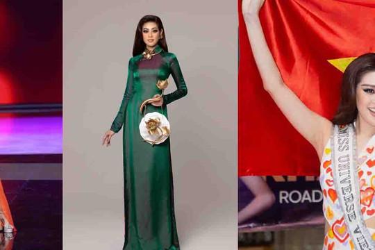 Khánh Vân dừng lại ở top 21 Miss Universe 2020