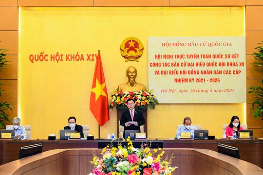 Khai mạcHội nghị toàn quốc triển khai công tác bầu cử ĐBQH khóa XV và đại biểu HĐND các cấp