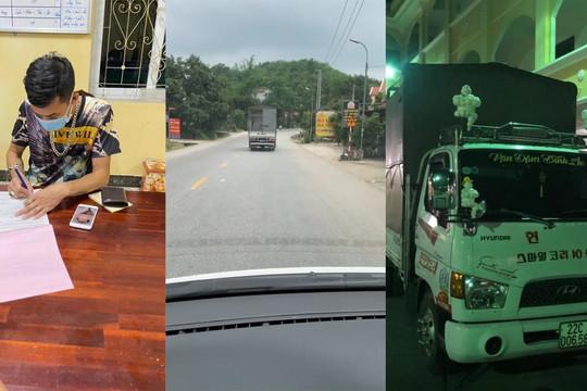 Xử phạt nam tài xế cố tình không nhường đường cho xe cứu thương