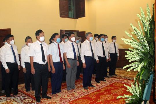 TANDTC dâng hương tưởng niệm Chủ tịch Hồ Chí Minh