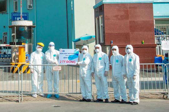 MB ủng hộ bệnh viện K 2 tỷ đồng chống dịch Covid-19
