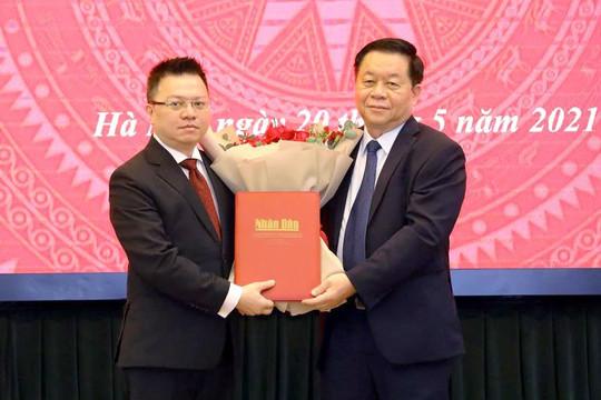Bộ Chính trị phân công ông Lê Quốc Minh làm Tổng Biên tập Báo Nhân dân