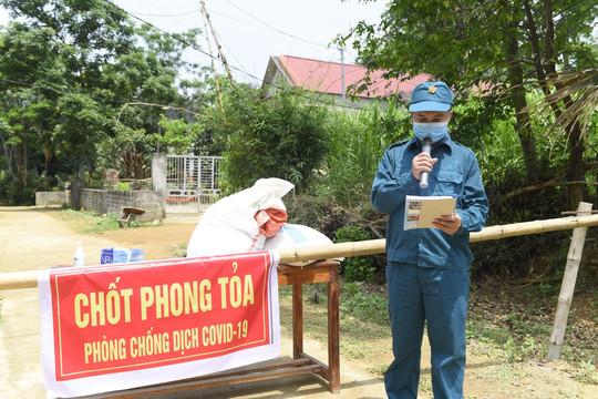 Thanh Hóa: Xử phạt 7,5 triệu đồng một người trốn cách ly