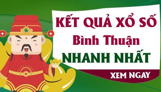 XSBTH 27/5 - KQXSBTH 27/5 - Kết quả xổ số Bình Thuận ngày 27 tháng 5 năm 2021