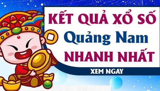 XSQNM 25/5 - KQXSQNM 25/5 - Kết quả xổ số Quảng Nam ngày 25 tháng 5 năm 2021