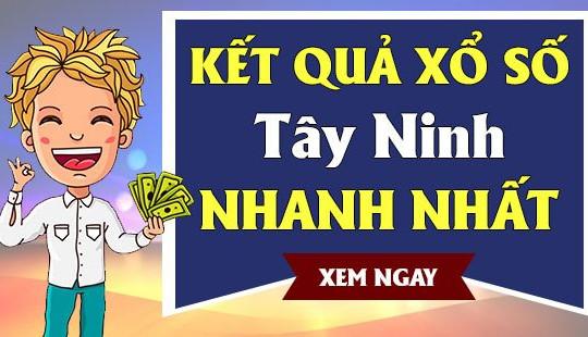 XSTN 27/5 - KQXSTN 27/5 - Kết quả xổ số Tây Ninh ngày 27 tháng 5 năm 2021