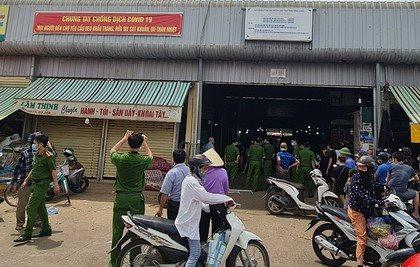 Án mạng tại chợ đầu mối Đông Hương, 1 người tử vong
