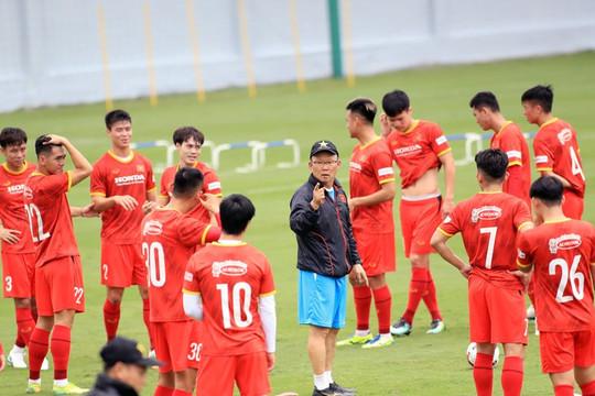 Công bố danh sách 29 cầu thủ đội tuyển Việt Nam thi đấu Vòng loại World Cup 2022 tại UAE