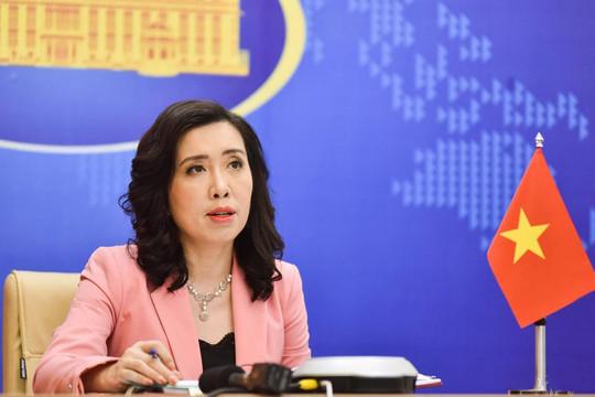 Việt Nam lên tiếng trước động thái của Philippines và Trung Quốc tại Biển Đông