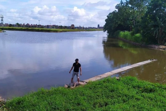 Nam thanh niên bị đuối nước khi đi câu cá