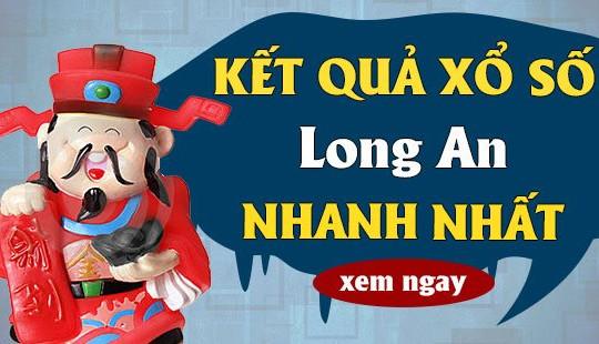 XSLA 29/5 - KQXSLA 29/5 - Kết quả xổ số Long An ngày 29 tháng 5 năm 2021