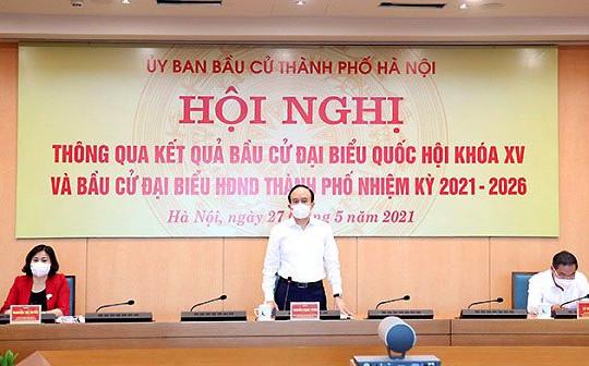 Hà Nội công bố danh sách 95 người trúng cử đại biểu HĐND khóa XVI