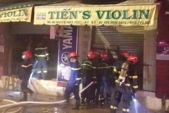 Hai người tử vong trong vụ cháy lúc rạng sáng