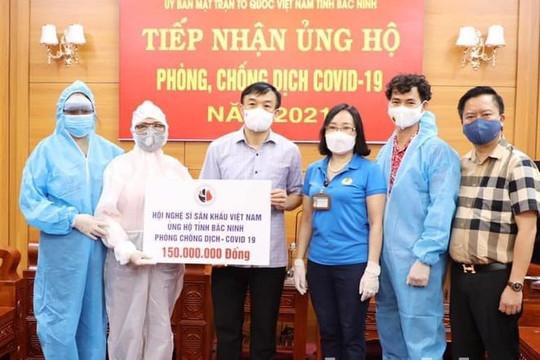 Quyền Linh, Xuân Bắc, Tuấn Hưng cùng dàn nghệ sĩ góp sức chống dịch Covid-19