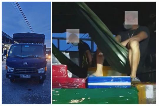 Xử lý tài xế mắc võng trong thùng xe chở 2 người từ Quảng Ninh lên Sơn La