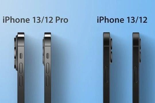 Dung lượng pin trên loạt iPhone 13 lớn hơn iPhone 12