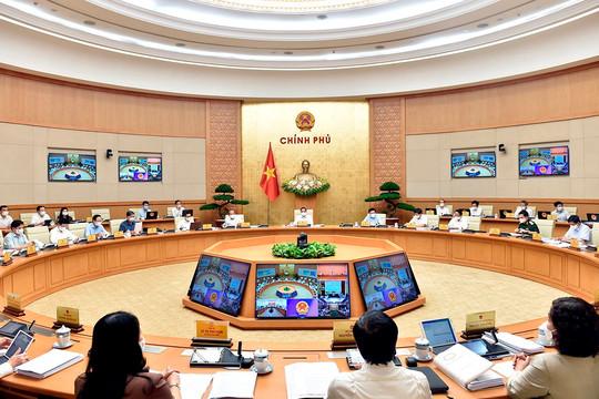 Khai mạc Phiên họp Chính phủ thường kỳ tháng 5