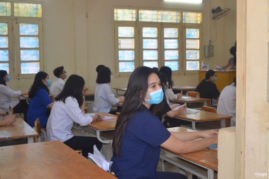 Chủ đề Covid-19 có trong đề thi Tiếng Anh vào lớp 10 ở Nghệ An