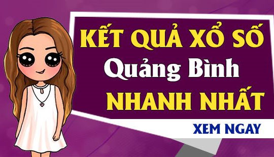XSQB 10/6- KQXSQB 10/6 - Kết quả xổ số Quảng Bình ngày 10 tháng 6 năm 2021