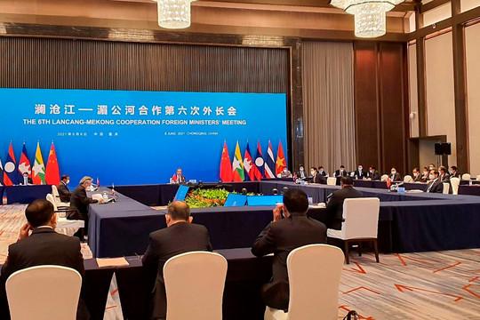 Việt Nam nêu 3 yêu cầu cấp bách tại Hội nghị Bộ trưởng Ngoại giao Mê Công - Lan Thương