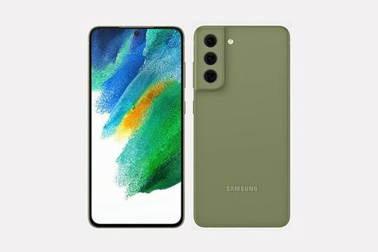 Samsung Galaxy S21 FE lộ diện thiết kế