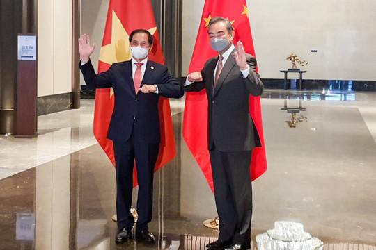 Việt Nam - Trung Quốc nhất trí duy trì hòa bình, ổn định ở Biển Đông