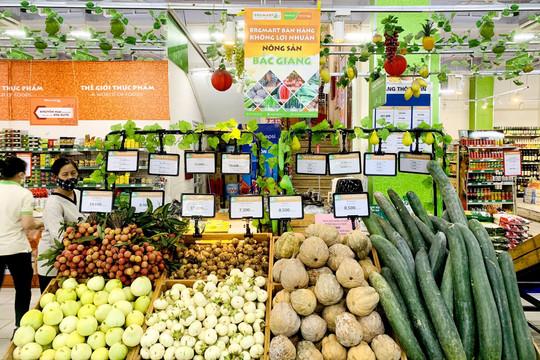BRGMart bán hàng không lợi nhuận: Hỗ trợ tiêu thụ nông sản Bắc Giang