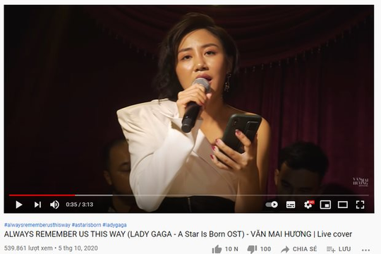 """Bài hát, clip cover của Văn Mai Hương bị """"bay màu"""" trên nền tảng âm nhạc quốc tế sau lùm xùm về bản quyền"""