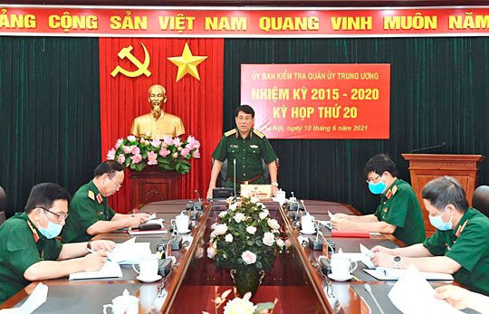Ủy ban Kiểm tra Quân ủy Trung ương đề nghị thi hành kỷ luật 12 quân nhân