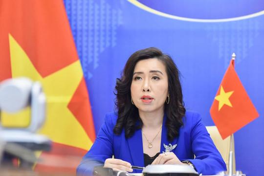 Việt Nam lên tiếng trước việc một quan chức quân đội Philippines đến đảo Thị Tứ
