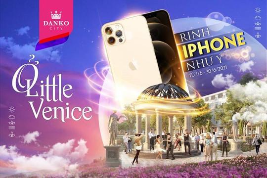 Tặng Iphone 12 Promax cho khách hàng đặt chỗ thành công sản phẩm tại KĐT Danko City