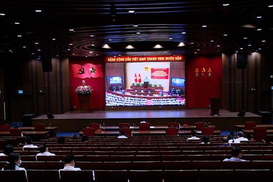 """TANDTC tham gia Hội nghị trực tuyến toàn quốc Sơ kết 5 năm thực hiện """"Học tập và làm theo tư tưởng, đạo đức, phong cách Hồ Chí Minh"""""""